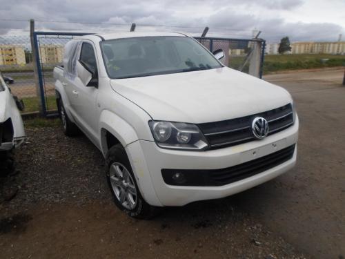 VW AMAROK CD 4X4 TREND EM PEÇAS COR BRANCO ANO 2012 CÓDIGO 686